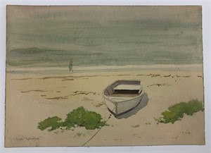 Image of [Rowboat on the Beach]