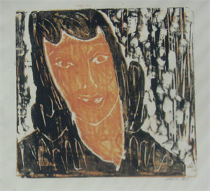 Image of Untitled [Portrait of a Woman]